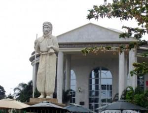 Congo Brazaville mausoleum